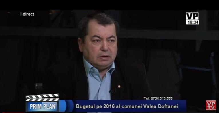 Buget 2016 Valea Doftanei