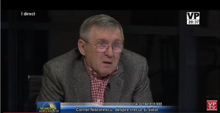 Cornel Nistorescu la VP TV
